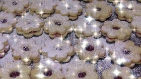 Bolinhos caseiros do Natal vídeos de arquivo