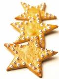 Bolinhos da estrela do Natal Imagens de Stock Royalty Free