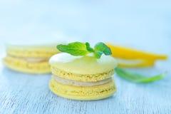 Bolinhos de amêndoa do limão Imagem de Stock