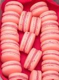 Bolinhos de amêndoa franceses da sobremesa Imagem de Stock