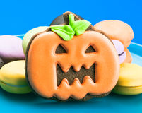 Bolinhos de Halloween Foto de Stock Royalty Free
