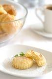 Bolinhos de manteiga Fotos de Stock Royalty Free