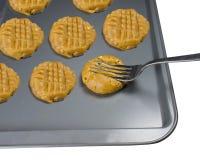 Bolinhos de manteiga do amendoim Fotografia de Stock