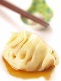 Bolinhos de massa cozinhados asiáticos Foto de Stock Royalty Free