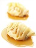 Bolinhos de massa cozinhados asiáticos Imagens de Stock