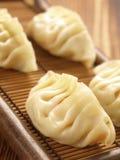 Bolinhos de massa cozinhados asiáticos Fotografia de Stock