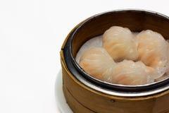 Bolinhos de massa do camarão Fotos de Stock Royalty Free