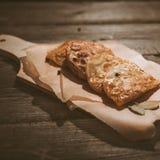 Bolinhos de massa fritados bandeja Imagem de Stock Royalty Free