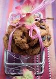 Bolinhos de microplaqueta de chocolate Foto de Stock Royalty Free