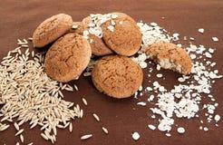 Bolinhos de Oatmeal Foto de Stock Royalty Free