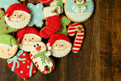 Bolinhos deliciosos do Natal Fotografia de Stock