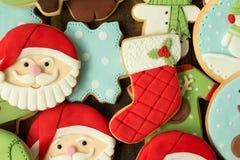 Bolinhos deliciosos do Natal Imagem de Stock Royalty Free