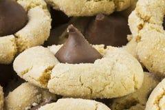 Bolinhos do beijo da manteiga de amendoim Imagens de Stock