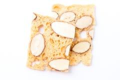 Bolinhos do biscotti da amêndoa Foto de Stock