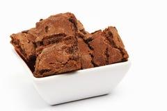 Bolinhos do chocolate fotografia de stock royalty free