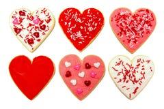Bolinhos do dia dos Valentim imagem de stock royalty free