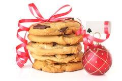 Bolinhos do Natal Foto de Stock