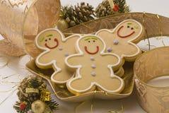 Bolinhos do Natal. imagens de stock royalty free