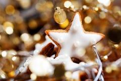 Bolinhos do Natal fotos de stock