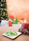 Bolinhos do Natal Fotografia de Stock Royalty Free