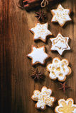 Bolinhos do Natal Fotos de Stock Royalty Free