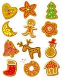 Bolinhos do Natal ilustração do vetor