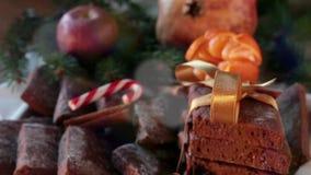 Bolinhos do Natal vídeos de arquivo