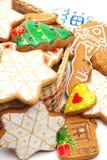 Bolinhos do Natal a decorar fotos de stock royalty free