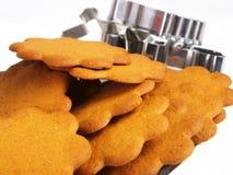 Bolinhos do pão-de-espécie Imagens de Stock