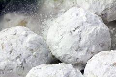 Bolinhos do Snowball Imagem de Stock