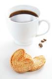 Bolinhos e café Imagens de Stock Royalty Free