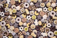 Bolinhos Handmade do Natal Fotografia de Stock