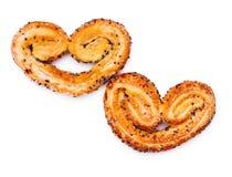 Bolinhos Heart-shaped fotos de stock