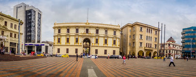 Bolivar Square in Manizales, Colombia Stock Photography