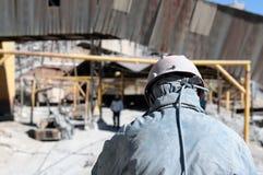 Bolivië, Mijnwerker in de stad van Potosi royalty-vrije stock fotografie