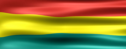 Bolivia. Flag - Symbol of a country Stock Images