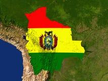 bolivia royaltyfri illustrationer