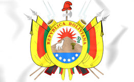 Bolivia Coat of Arms 1826 Stock Image
