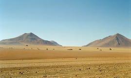 bolivia diun skał piasek rozpraszający zdjęcia stock