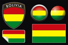 bolivia  flag Stock Images