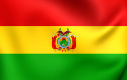 bolivia flagę Obraz Stock
