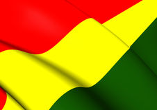 bolivia flagę Zdjęcie Stock