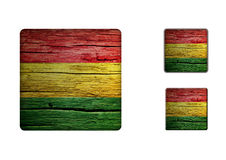 Bolivia Flag Buttons Royalty Free Stock Photos