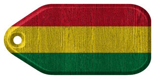 Bolivia flag Royalty Free Stock Photo