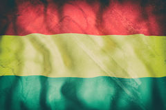 Bolivia flag waving Stock Images