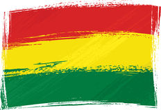 bolivia grunge flagę Zdjęcie Stock