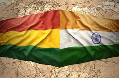 Bolivia and India Royalty Free Stock Image