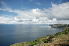 bolivia jeziora titicaca Obrazy Stock