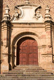 bolivia kyrkliga koloniala gammala sucre Royaltyfri Bild