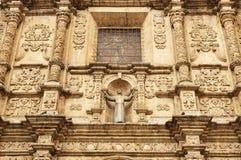 Bolivia, La Paz. La Paz - the governmental capital of Bolivia. Cityscape - Plaza San Francisco - architecture detail church de San Francisco royalty free stock photography